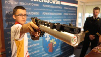 Photo of WIKTOR BLADA DOCENIONY PRZEZ STAROSTĘ BEŁCHATOWSKIEGO