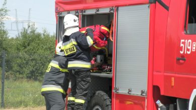 Photo of Pożar stacji elektroenergetycznej w Radomsku