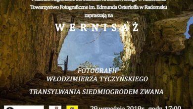 Photo of MUZEUM REGIONALNE: WERNISAŻ FOTOGRAFII WŁODZIMIERZA TYCZYŃSKIEGO