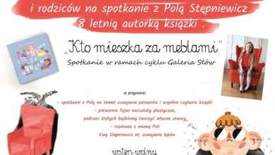 Photo of DZIECIĘCE STRACHY NA KARTACH KSIĄŻKI 8 – LETNIEJ POLI