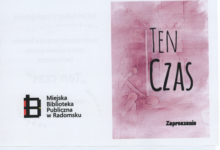 "Photo of ""TEN CZAS"" EWY KACZMARCZYK"