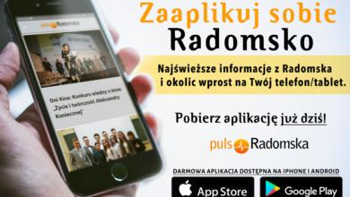 Photo of Pobierz aplikację Puls Radomska na swój telefon
