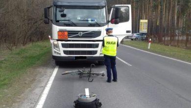 Photo of [Aktualizacja]40-letni kierowca cysterny nie zauważył rowerzysty. Nie żyje 62-letni mężczyzna