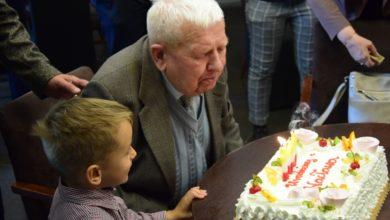 Photo of 100. urodziny radomszczanina Wacława Cieślaka