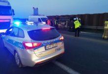 Photo of DK1: Zderzenie osobówki z ciężarówką
