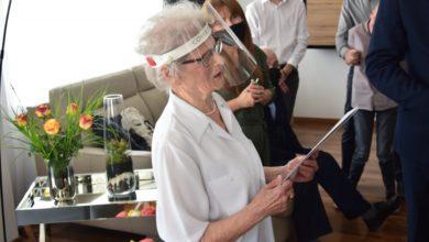 Photo of 100. urodziny radomszczanki Pani Anny Skóry