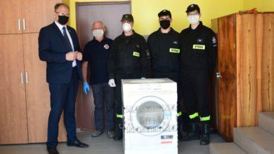 Photo of Pralko-suszarki dla Ochotniczych Straży Pożarnych