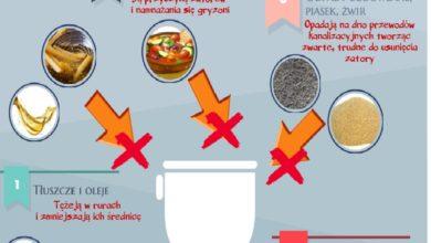Photo of Kanalizacja to nie kosz na śmieci, PGK alarmuje