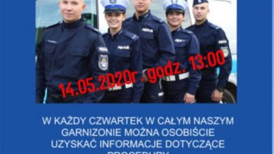 Photo of Praca w policji. Doborowy czwartek online
