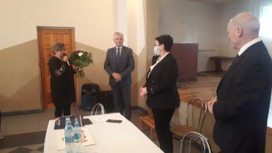 Photo of Anna Milczanowska i Antoni Macierewicz z wizytą w Silnicy