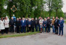 Photo of Uroczyste odsłonięcie tablicy upamiętniającej 76. rocznicę bitwy w Woli Życińskiej