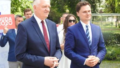 Photo of Jarosław Gowin w Radomsku zachęcał do głosowania na Andrzeja Dudę