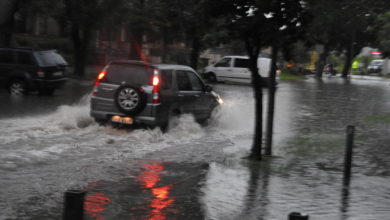 Photo of Ulewny deszcz podtopił Radomsko [Zdjęcia]