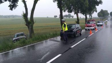 Photo of Czołowe zderzenie dwóch aut w gminie Kodrąb