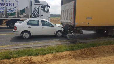 Photo of Wypadek na DK1. Droga jest zablokowana