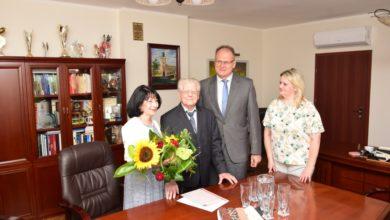 Photo of 100. urodziny Pana Mariana Kołodziejskiego
