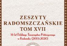 """Photo of Ukazał się XVII tom """"Zeszytów Radomszczańskich"""""""