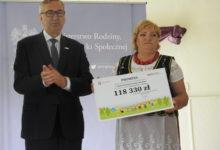 Photo of 118 tys. zł dla Stowarzyszenia Kobiety Kietlina