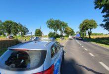 Photo of Wypadek na DK 42. Dwa samochody dachowały [FOTO]