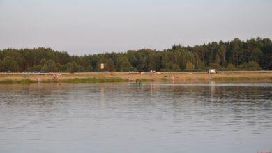 Photo of Ratownicy WOPR na zbiorniku wodnym w Zakrzówku Szlacheckim