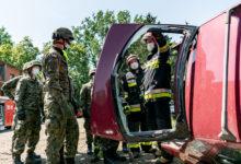 Photo of Terytorialsi ćwiczyli jak ratować ofiary wypadków na drogach
