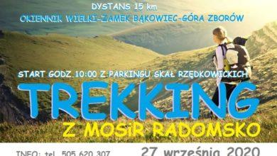Photo of MOSiR zaprasza na trekking w rejonie malowniczych Skał Rzędkowickich