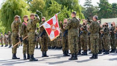 Photo of Łódzcy Terytorialsi mają sztandar
