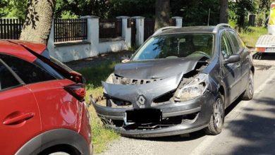Photo of Wypadek w Bloku Dobryszyce. Jedna osoba została ranna