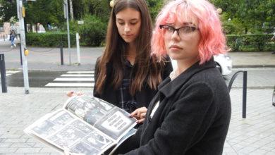 Photo of Uczniowie Ekonomika stworzyli rysunkową historię miasta
