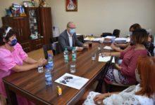 Photo of Spotkanie z dyrektorami szkół w Kamieńsku