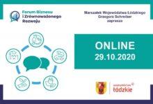 Photo of Forum Biznesu i Zrównoważonego Rozwoju – Łódzkie 2020