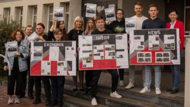"""Photo of """"Ekonomik News"""" nagrodzony w Ogólnopolskim Konkursie na Gazetkę Szkolną"""