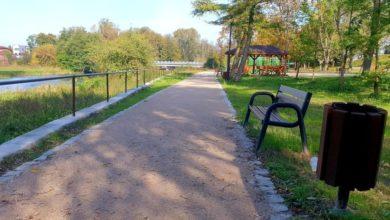 Photo of Zrewitalizowany park w Przedborzu. Możesz wymyślić dla niego nazwę