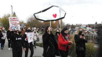Photo of Protest przeciwko zakazowi aborcji. Radomszczanie wyszli na ulice