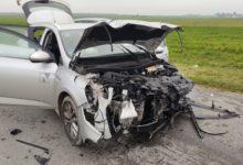 Photo of Wypadek w Masłowicach. 26-latek nie ustąpił pierwszeństwa przejazdu